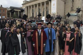 SLIIT students graduating