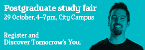 Postgraduate study fair 29 October